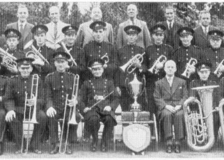 Photograph of band