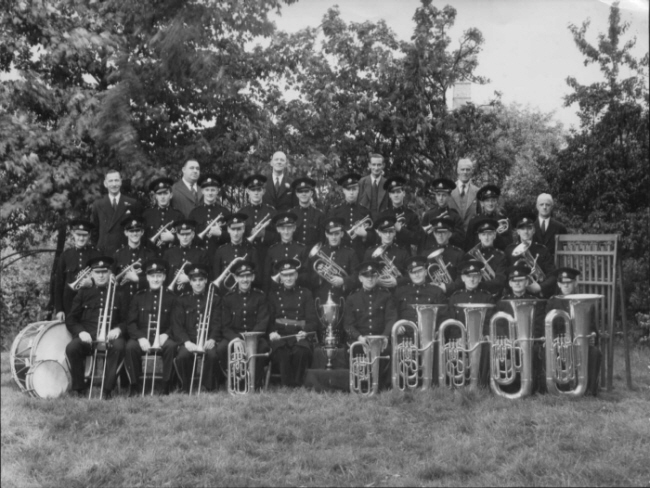 The band in 1948